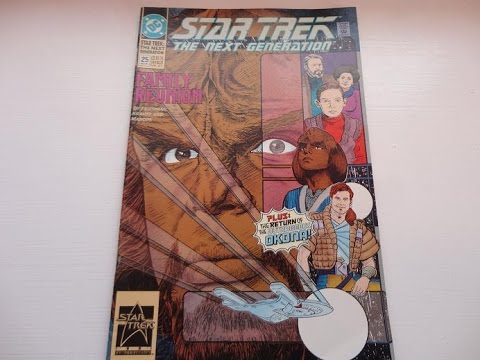 A 1991 Family Reunion Star Trek Comic Book-Auction Find
