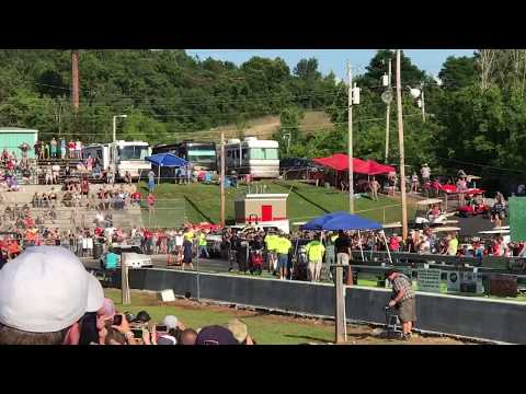 STREET OUTLAWS DADDY DAVE GOLIATH 2.0 VS CHUCK'S DEATH TRAP AT BRAINERD MOTORSPORTS PARK