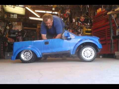 bagged power wheels ford raptor youtube. Black Bedroom Furniture Sets. Home Design Ideas