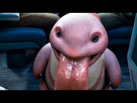 Lickitung Reveal - POKEMON: DETECTIVE PIKACHU Trailer (2019)