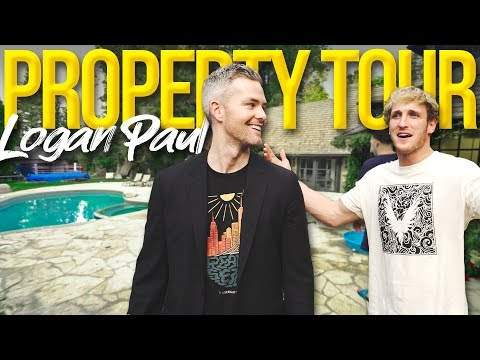 Inside Logan Pauls $7 Million LA Mansion | Ryan Serhant Vlog #67
