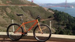 Mountain Biking San Francisco - Marin Headlands - Rigid Single Speed Ride