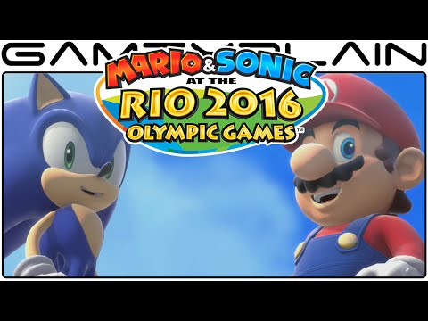 70 Minutes of Mario & Sonic at the Rio 2016 Olympic Games - Game & Watch (Video Preview)