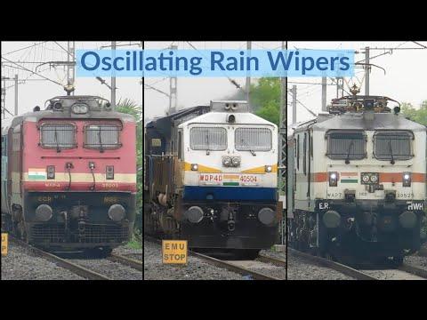 Heavy duty Rain Wipers : [5 in 1] Trains under mild drizzle skip JPQ