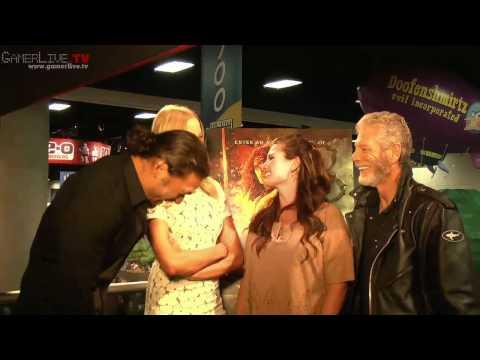 Actors Jason Momoa, Rachel Nichols and Stephen Lang Talk Conan The Barbarian Film