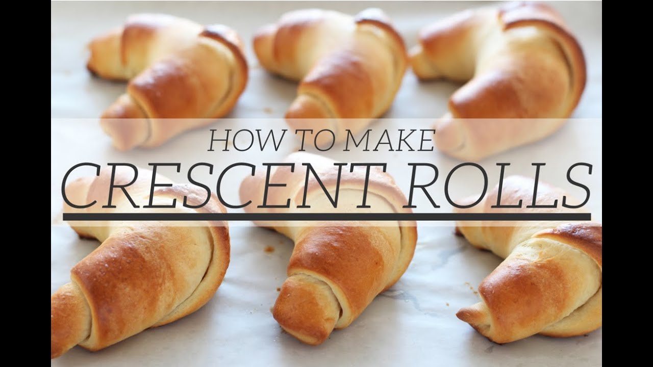 how to roll a croissant