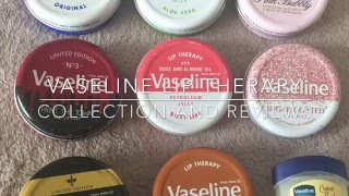 Vaseline Lip Therapy Collection And Reviews