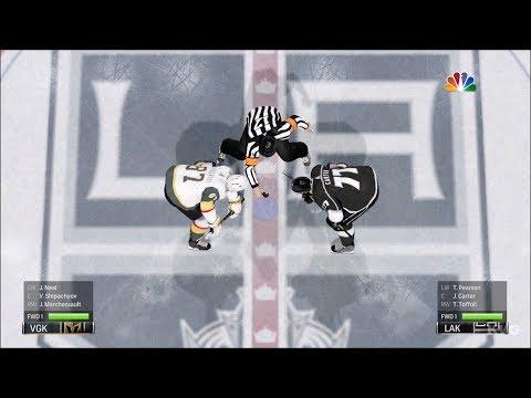 NHL 18 - Los Angeles Kings vs Vegas Golden Knights - Gameplay (HD) [1080p60FPS]