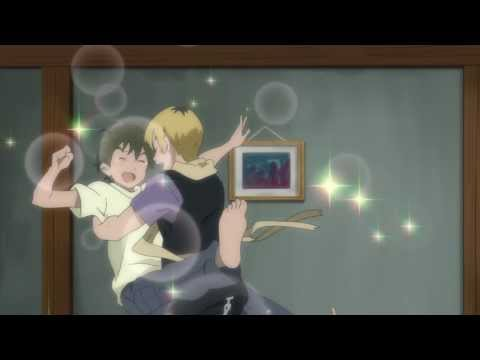 Kannagi: Akiba and Jin. Funny moment.