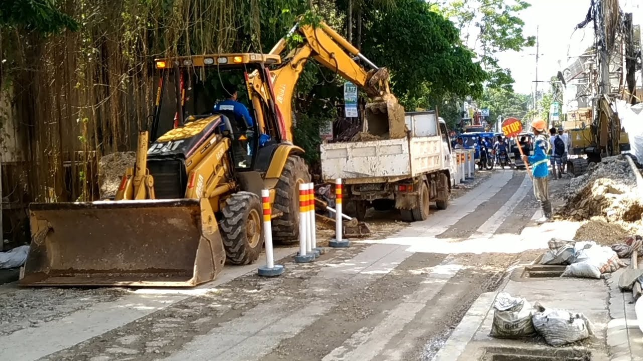 Image result for boracay construction roads
