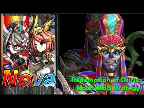 Brave Frontier - Redemption Of Osiris (Mock IUBB Strategy - 11 Turn Clear)