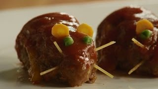 Halloween Recipes - How To Make Meatloaf Rats