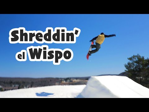 Shreddin' El Wispo. Last Time At The Wisp. Sunday, March 8, 2020. 3 Weeks Ago.