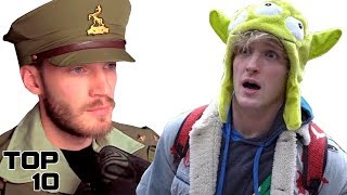 Top 10 YouTubers Who Ruined Their Careers With A Single Video