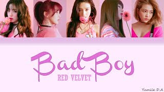 Red Velvet - Bad Boy | Letra Fácil (Pronunciación)
