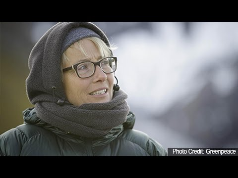 Why is Emma Thompson in the Arctic?