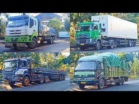 Hunting Truck Perak Utara Sore Akhir Pekan Banyak Muat Steel Billet • Chenglong, Scania, Big Thumb