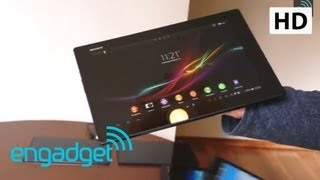 Sony Xperia Tablet Z hands-on | Engadget