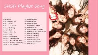 ⋆ ˚。⋆୨୧˚ SNSD Playlist Song˚୨୧⋆。˚ ⋆