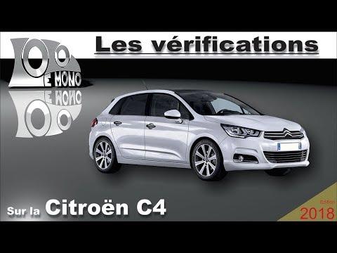 Citroën C4: vérifications et sécurité routière