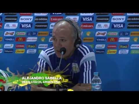 Alejandro Sabella: Lionel Messi fordert 4-3-3! | Argentinien - Iran | FIFA WM 2014 Brasilien