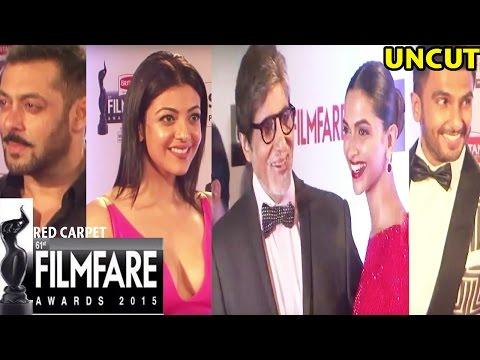Filmfare Awards 2016 | Red Carpet | Salman Khan | Ranveer | Deepika | Amitabh | Full Event