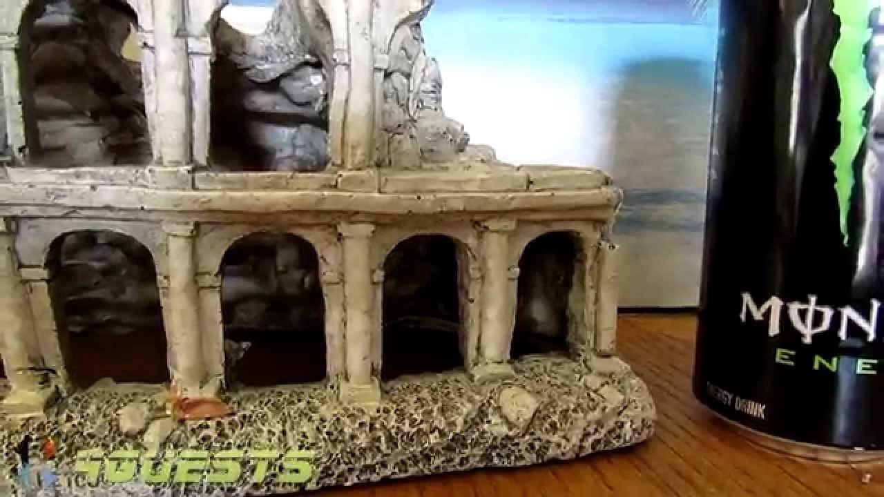 Aquarium Decor Ancient Roman Or Greek Ruins Youtube