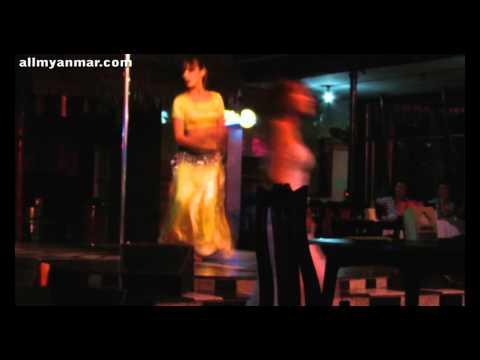Yangon Nightlife Sexy Dancing