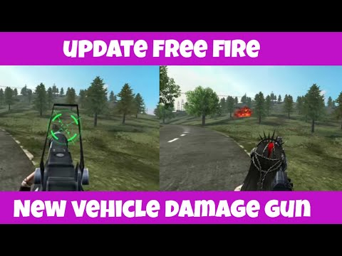 Update Free Fire Add New vehicle damage gaan//Full Review In Free Fire