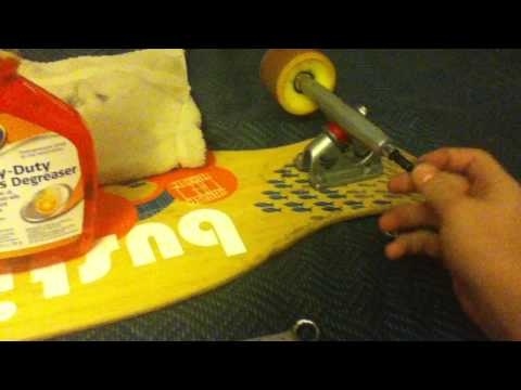 How to clean your longboard bearings