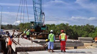 Medan-Kuala Namu-Tebing Tinggi toll road construction begins