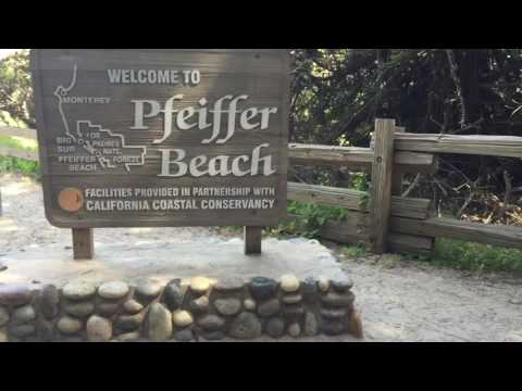 Big Sur - McWay Falls / Pfeiffer Beach / Bixby Creek Bridge - Travel Adventures