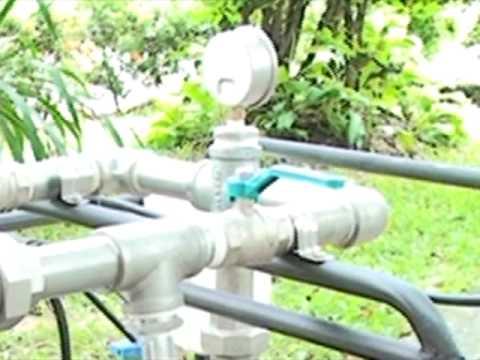 โครงการ การฝึกอบรมและถ่ายทอดเทคโนโลยีระบบให้น้ำ รศ ดร บัญญัติ เศรษฐฐิติ และคณะ