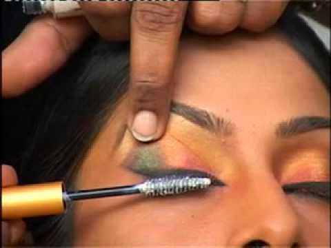 How to do a bridal eye makeup