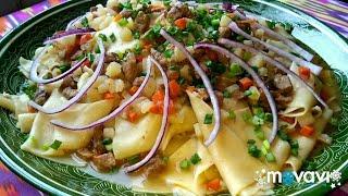 Восточная узбекская кухня!  Шилппилдок.  Super soup. #вкусняшки #soup