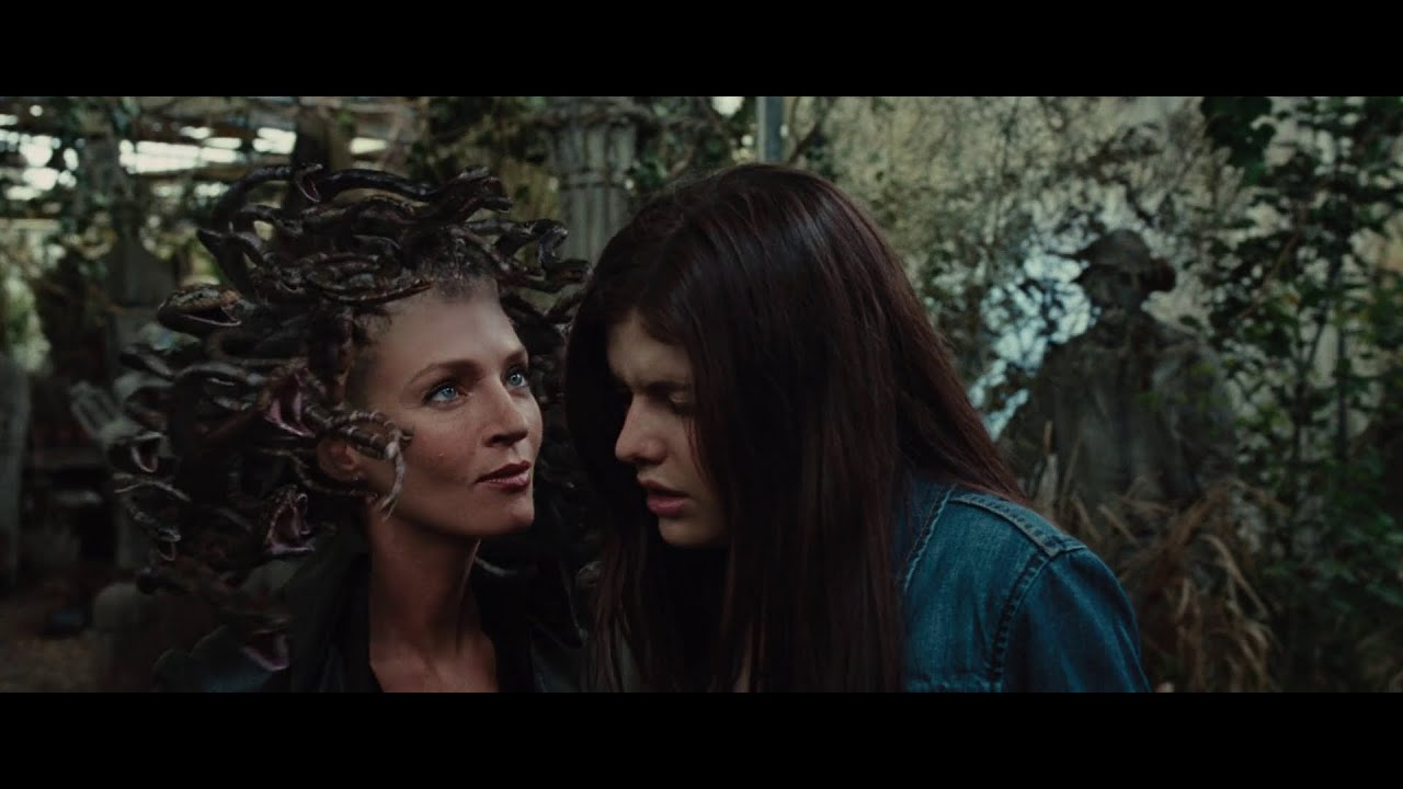 Download Percy Jackson And The Lightning Thief - Annabeth Meets Medusa HD