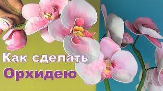 як зробити орхідею з фоамірана