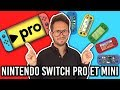 Nintendo Switch PRO et MINI en approche : les infos !