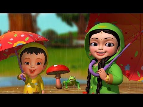 Tip Tip Baarish Aayee   Hindi Rhymes for Children   Infobells