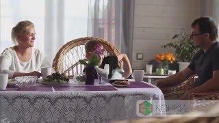 видео Двойной брус: строительство дома по финской технологии. Дом из двойного бруса: отзывы