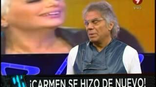 Carmen Barbieri pasó por el quirófano