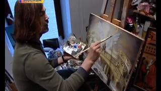 Альбина Селицкая раскрывает тайну картин Никаса Сафронова