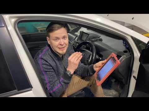 Toyota Prius - проверка батареи (ВВБ, гибридной системы)