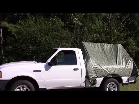 Diy truck tent & Diy truck tent - YouTube