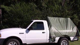 Diy truck tent