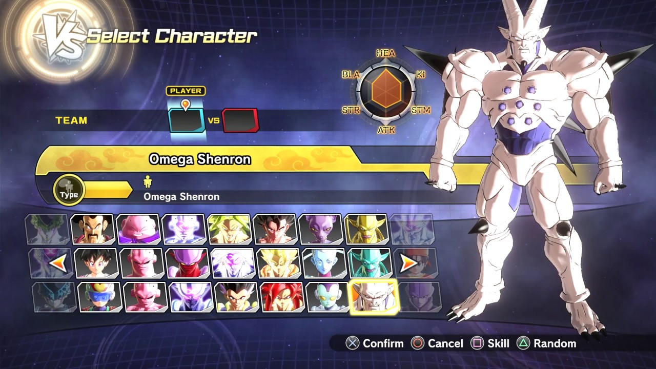 dragon ball xenoverse 2 all characters roster all variations