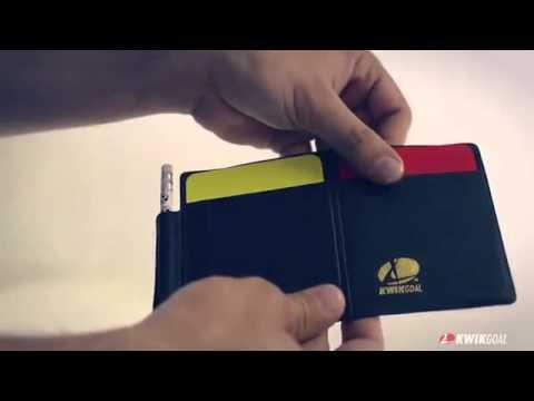 cd7149f7a48 Kwik Goal Soccer Referee Wallet - YouTube