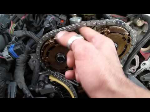 05 cts timing chain problem -fix diy v6