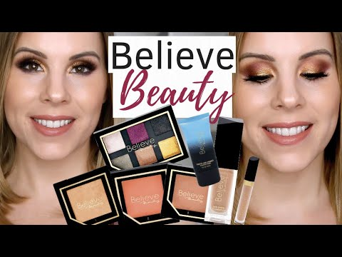 Full-Face Of Nothing Over $5 // BELIEVE BEAUTY At Dollar General