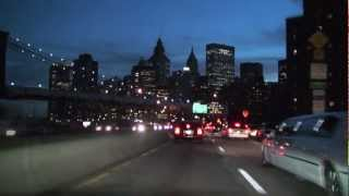 New York City: FDR Drive - Dusk to Dark
